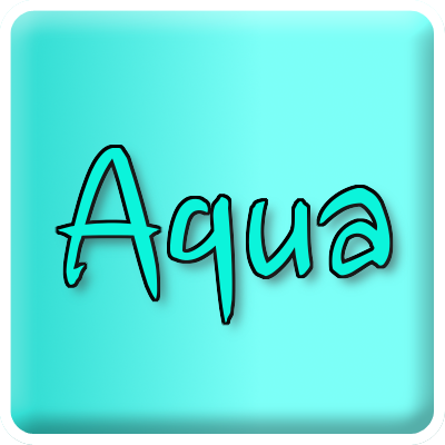 Aqua | Coloured in Life: www.coloredinlife.com/aqua