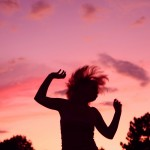 Sunset_Party_Dancing_Girl_Silhouette